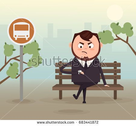 stock-vector-angry-nervous-businessman-office-worker-character-waiting-late-bus-look-at-watch-and-sitting-on-683441872